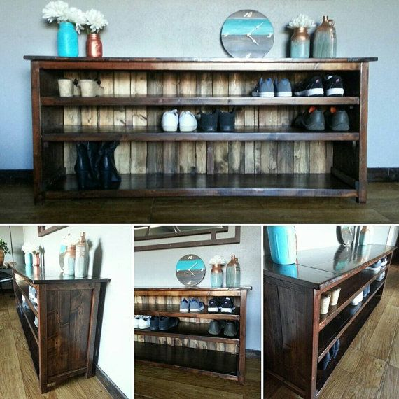 25+ Best Rustic Shoe Rack Ideas On Pinterest