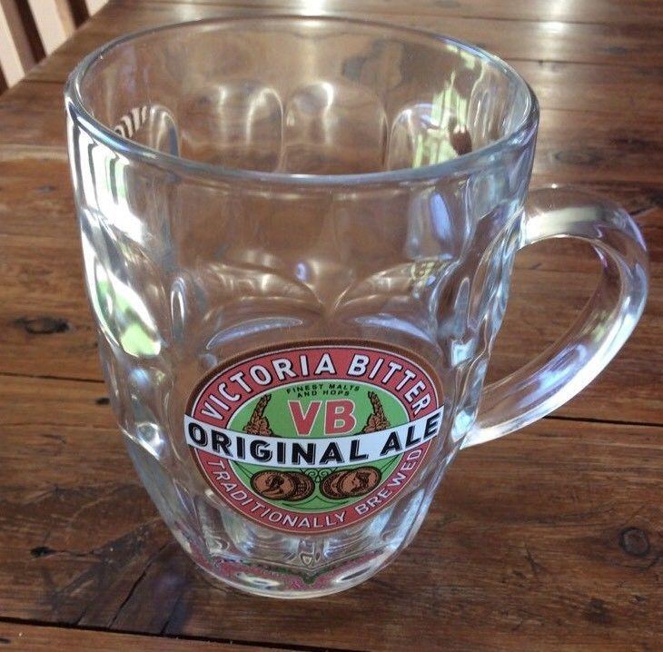 Victorian Bitter Original Ale Beer Stein Collectable Mancave Glass  | eBay