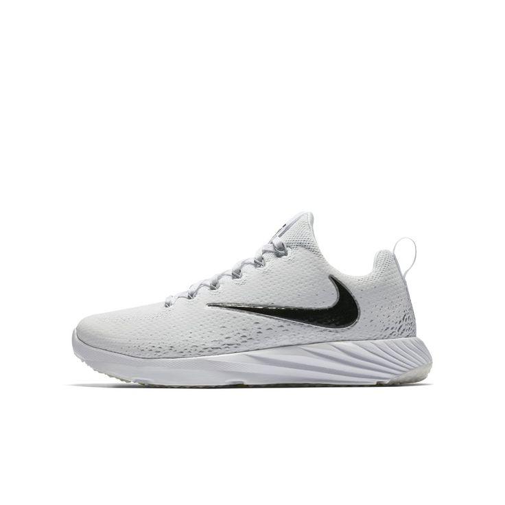 Nike Vapor Speed Turf  Big Kids' Football Shoe Size 4.5Y (White)