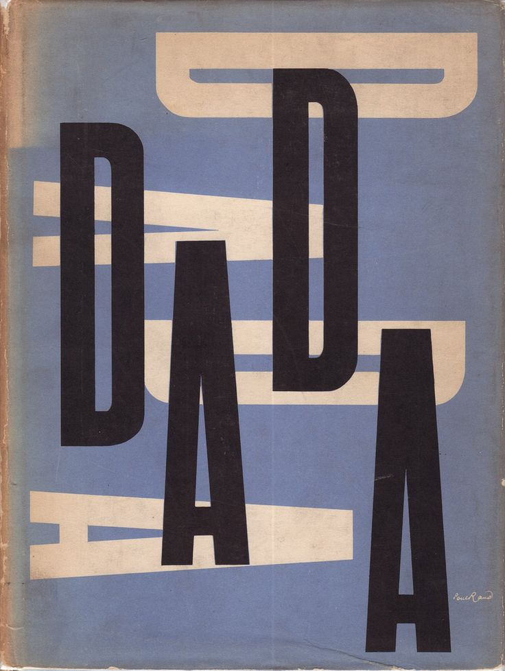 • « Data est tatou. Tout est dada. » • DADA • by PAUL RAND (1914-1996) • from Motherwell/Wittenborn's documents of modern art (1944-1972) •