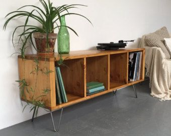 Oldfield Low Large Mid Century Style Side Table/ Coffee Table/