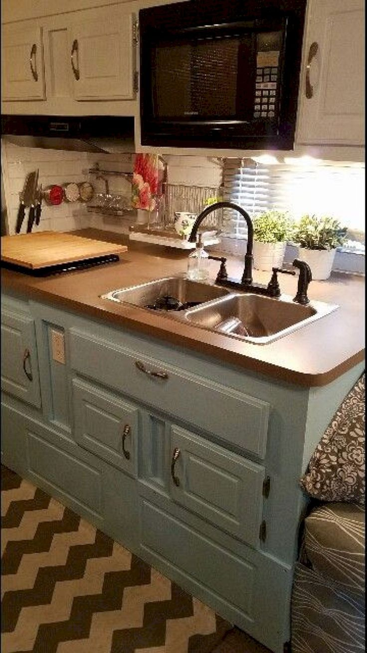 Diy rv interiors - 40 Best Diy Remodeled Campers On A Budget Ideas