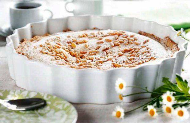 Tort waniliowy z cytryną