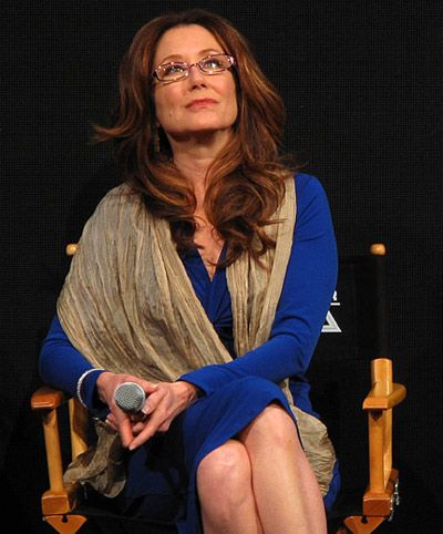 Mary McDonnell, aka Laura Fucking Roslin!
