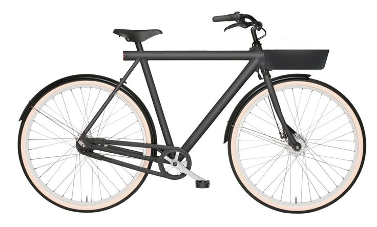 """Today I have ordered my new bicycle a VANMOOF 3.7 """"noir edition""""."""