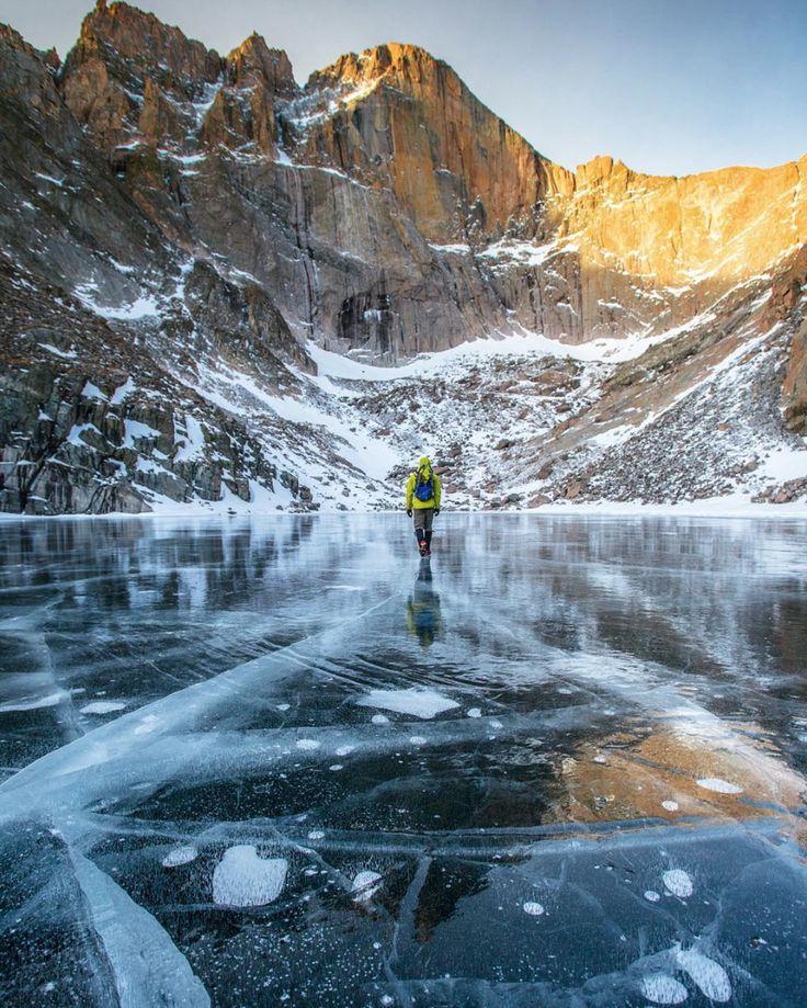 Hiking Chasm lake #outdoor