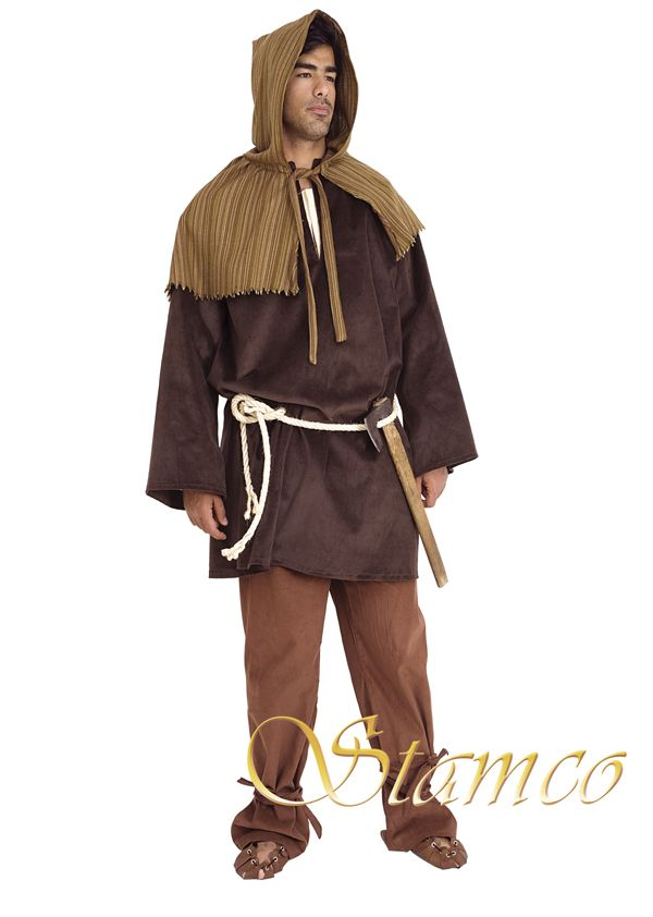 Medieval Clothing Carpenter Halloween Costumes