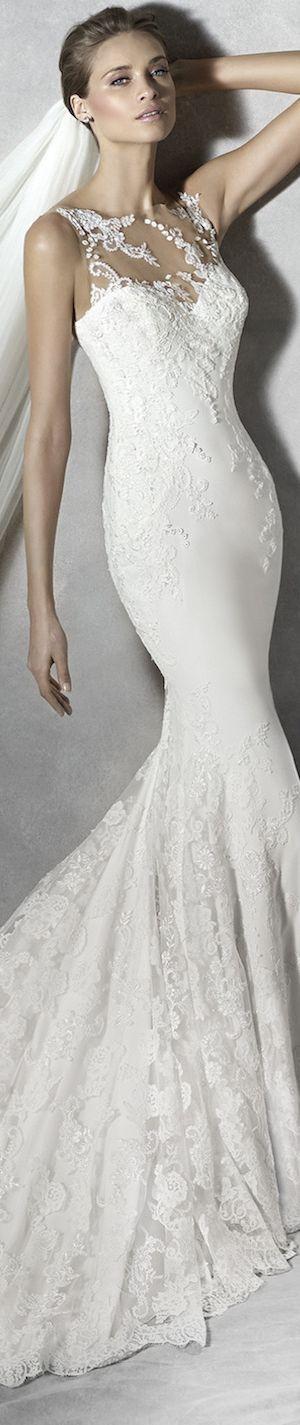 PRONOVIAS BRIDAL GOWNS 2016 PRUNELLE WEDDING DRESS