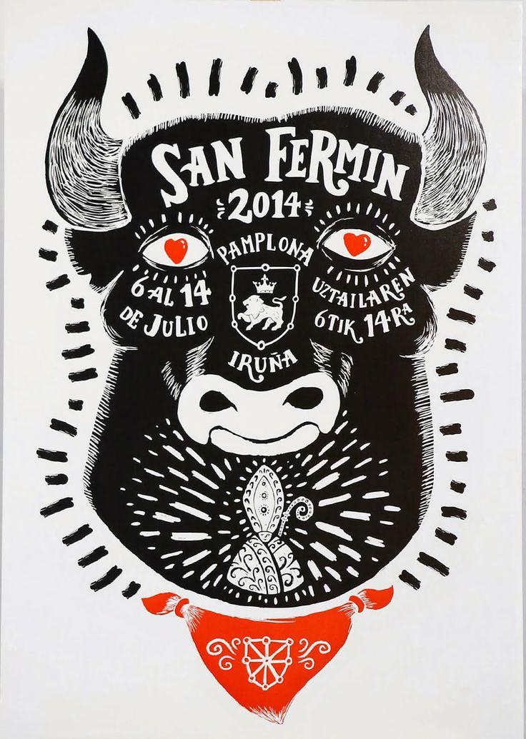 8 carteles sanfermineros #SF2014 ~ Gran Hotel La Perla
