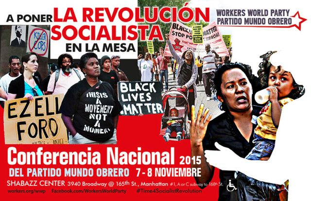 Poniendo la revolución socialista sobre la mesa   Workers World