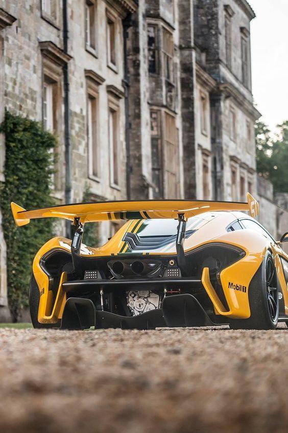 McLaren P1 GTR Race Car SportCar Auto SuperCar
