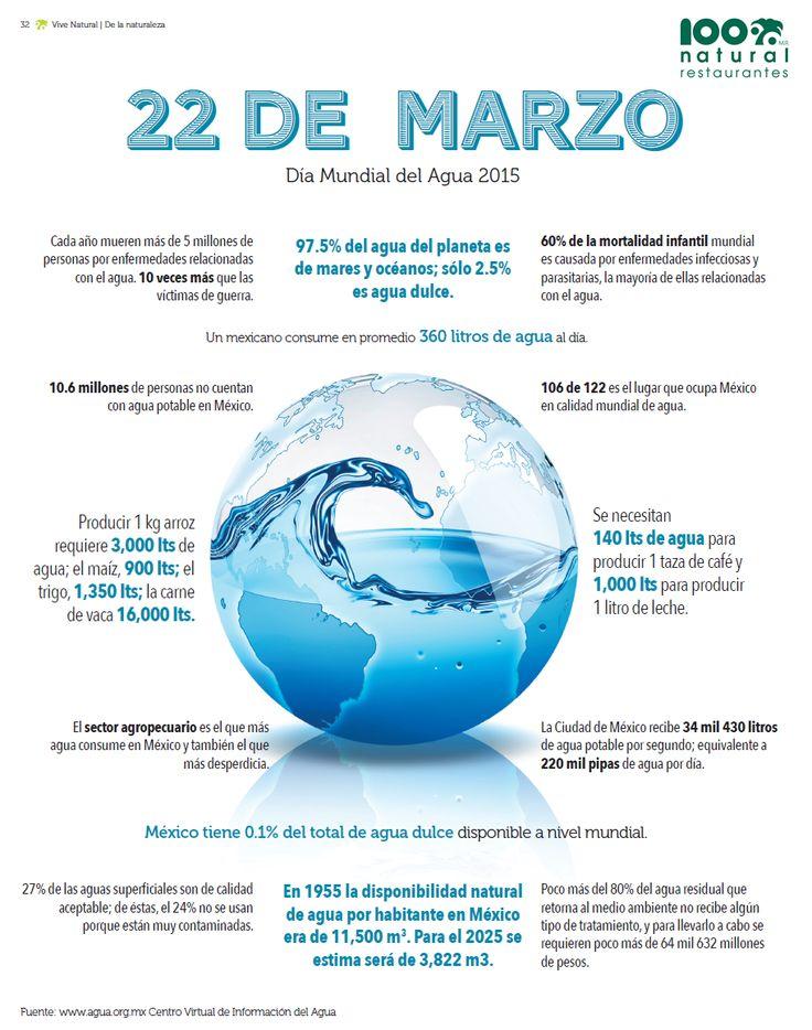 #SabíasQue producir 1 kg de arroz requiere 3,000 lts de agua y que cada año mueren más de 5 millones de personas por enfermedades relacionadas con el agua? #DíaMundialDelAgua ¡hagamos conciencia!