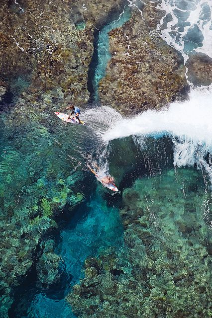 surfing in Indonesia...