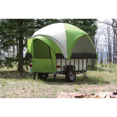 Perfect Camper Trailer Go Anywhere Fits On Flat Tray UteSleeps 4