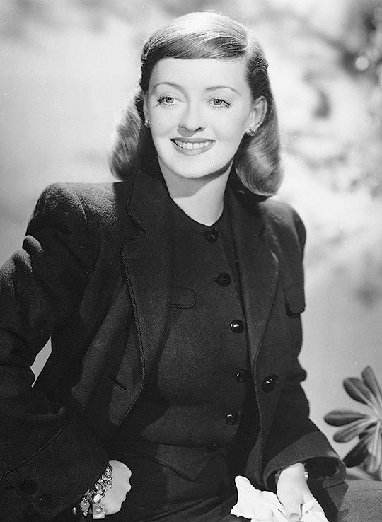 """Bette Davis in """"A Stolen Life"""", 1946. Costumes designed by Orry-Kelly."""