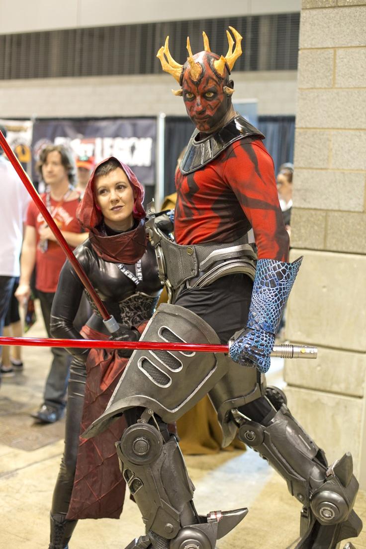 insane darth maul clone wars cosplay.