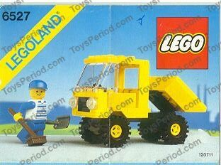LEGO 6527 Tipper Truck Image 1
