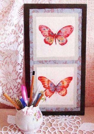 Панно бабочки своими руками