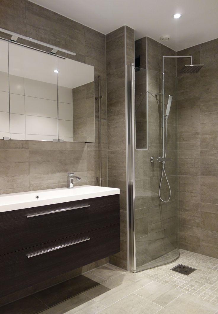 Nytt bad og vaskerom Skoklefald Terasse