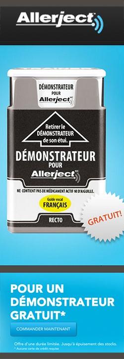 Démonstrateur Allerject gratuit.   http://rienquedugratuit.ca/echantillon-gratuit/demonstrateur-allerject/