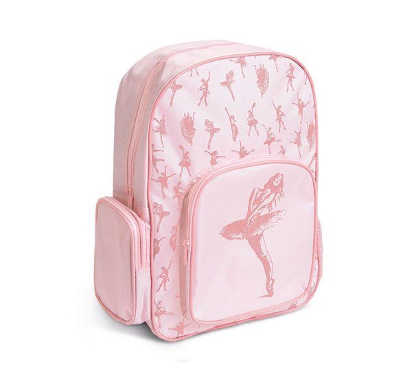 Ballerina Backpack is PERFECT for  Back to School!  Shop Now! pinktutushop.com #dance #dancer #ballet #ballerina #pinktutu #pinktutushop #backpack #bag #dancebag #balletbag #ballerinabag #back2school #back2danceschool #backtoschool #pink