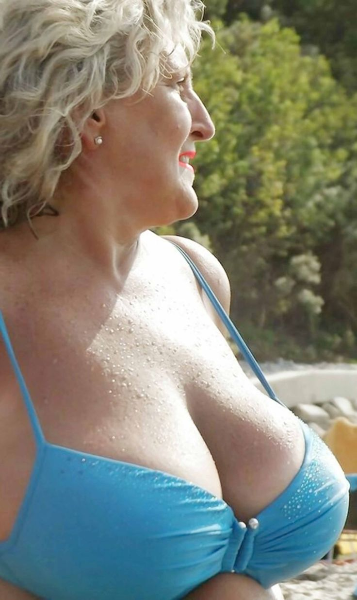 HOT granny boobs fantastic