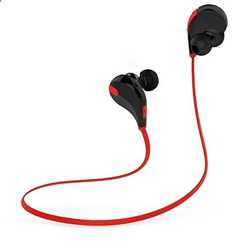 MP3 players for sports Minisuit Wireless Headphones, Bluetooth Speaker for Universal SmartPhones – Retail Packaging – Black/Red #deals - One of the best MP3 players in the market. It is submersible up to two meters, is available in five colors.