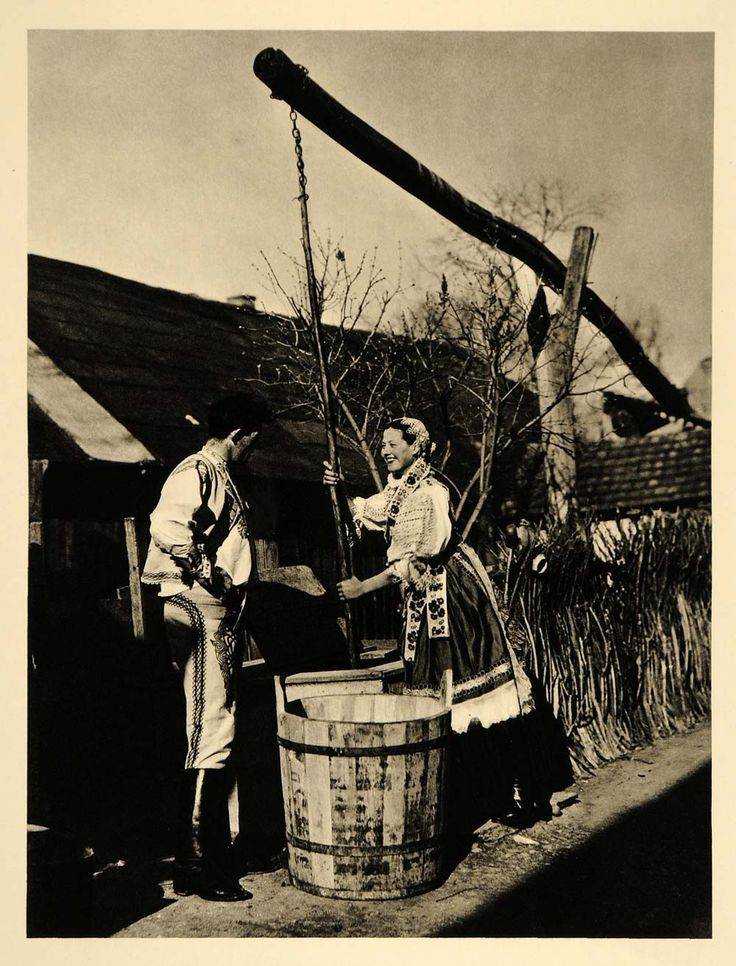 1935 Slovakian Farmer Folk Costume Woman Dress Slovakia - ORIGINAL PTW2