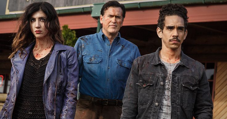 'Ash Vs Evil Dead' Review: The King Is Back, Baby! -- The first episode of Starz's 'Ash Vs Evil Dead' is worth the thirty year wait, but will the series be able to maintain this momentum? -- http://tvweb.com/news/ash-vs-evil-dead-review-episode-1-el-jefe/