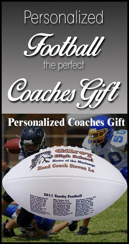 The perfect Football Coaches gift, from pee wee football to Varsity.  You choose to print the roster or have the team sign the second panel.  What coach wouldn't love this gift?