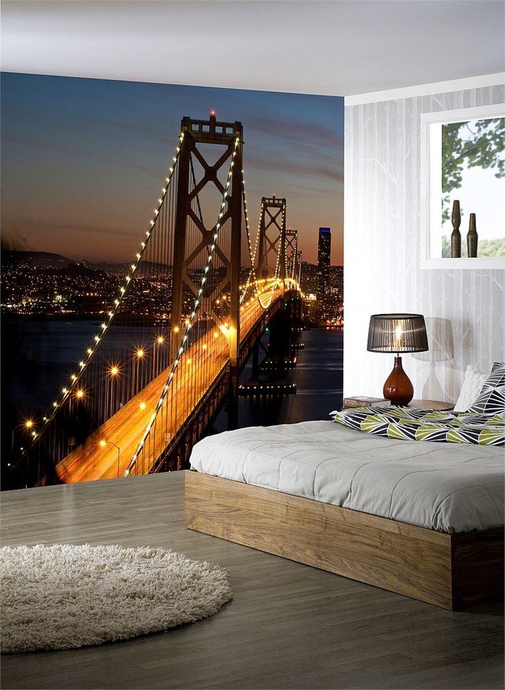 San Francisco Körfezi Köprüsü Duvar Kağıdı Sadece 75 TL