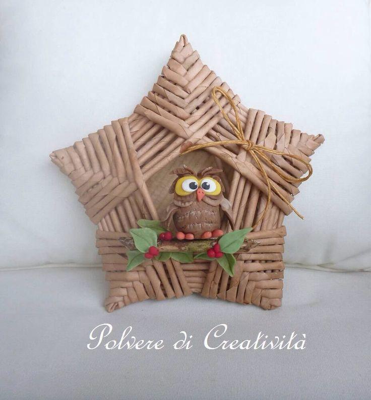Basket Owl in Star