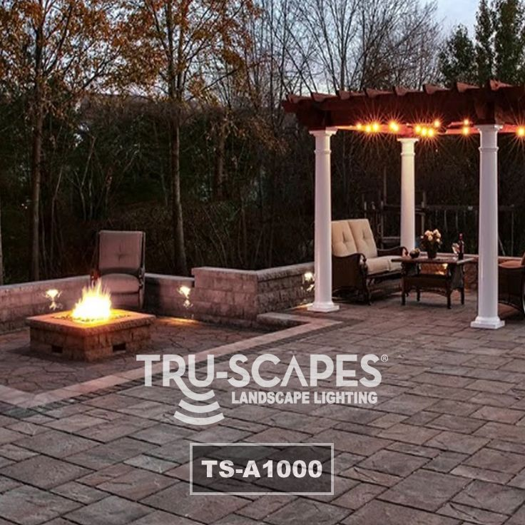 Tru Scapes Ts A1000 Landscape Lighting Led Outdoor Lighting Hardscape