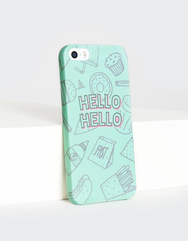Funda movil hello Iphone 5/5s-Shana