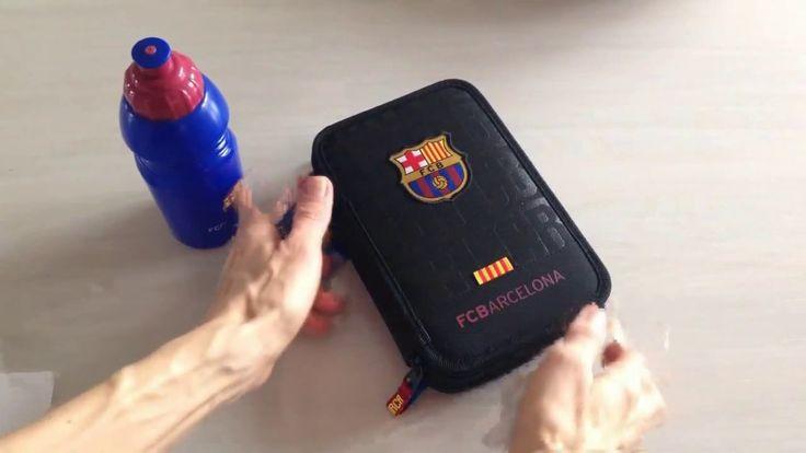 FC Barcelona penalhus, dobbelt med fyld. Gratis fragt