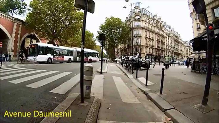 Cycling in Paris - Suresnes - Château de Vincennes (Itinéraire officiel 2)