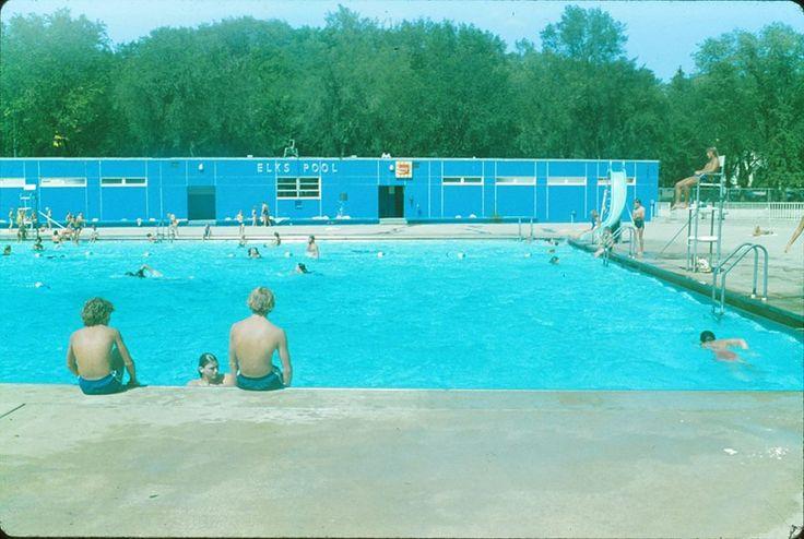 Elks Swimming Pool Bismarck North Dakota 1980 Used To Go There All The Time Bismarck North Dakota Swimming Pools North Dakota