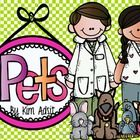 This unit uses a Pet theme to teach ABC, sequencing, word families, labeling, beginning sound, number line, counting, shapes, sorting, length, size...