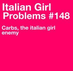 Italian Girl Problems
