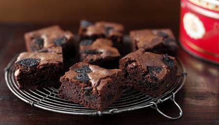tried this the other night and it makes an extremely rich and gooey brownie. I may add a little more flour and one less egg yolk next time or a few more minutes in the our oven, to get a slightly firmer more cakelike texture.