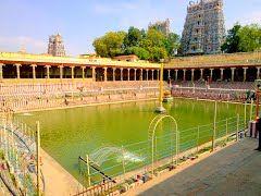 Ch 27 - Pool of the Golden Lotus; Panoramio - Photo of Pushkarini,Meenakshi Temple, Madurai, Tamil Nadu 625001, India (Zoom for more Details)