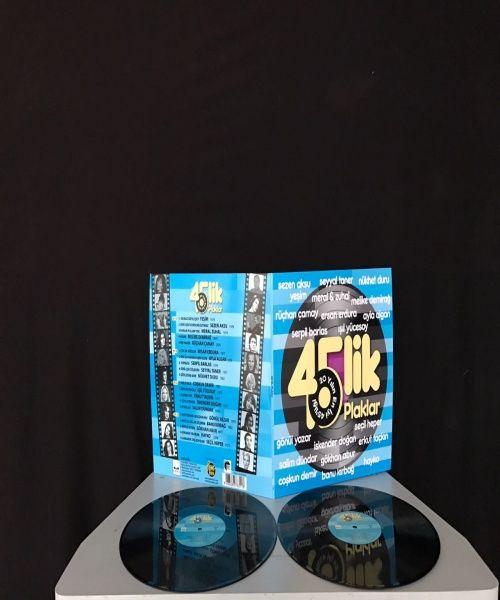 45 lik Plaklar - 20 Yılın En İyi 45 liği (Double) [YENİ]
