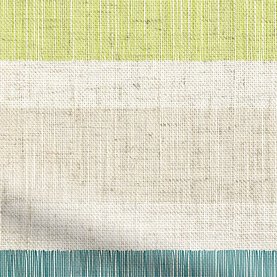 Choices Cardigan Stripe Linen Sea Green Roller Blind%20from%20Blinds%202go