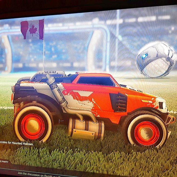 Flag #132 of 150 taken of my vehicle in @rocketleague on @PlayStation for my #Canada150 photos . . . . . #rocketleague #gaming #ps4 #games #playstation #rl #cars #rocket_league