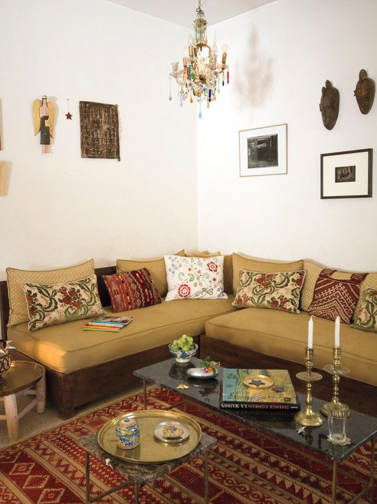 Outstanding moroccan style sofa and furniture Moroccan style living room furniture