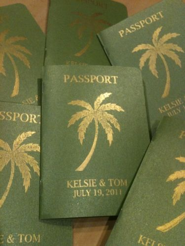 This makes me want to have a destination wedding just to send out these invites