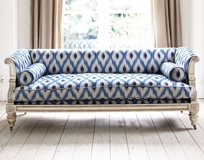 Regency Sofa - love it we should go blue in the snug to math this