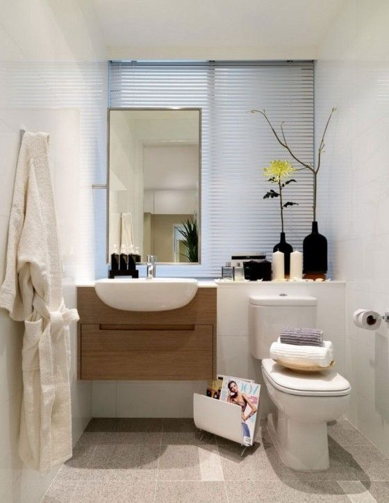 Multifunctional White Small Bathroom Ideas With Eclectic Decor Neat And  Clean