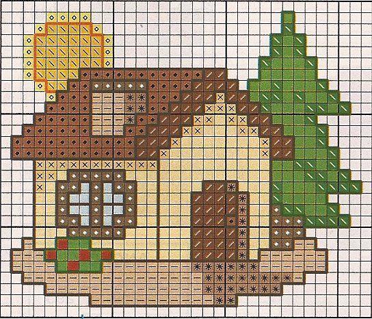 Cross stitch *<3* Point de croix Christmas mini chart
