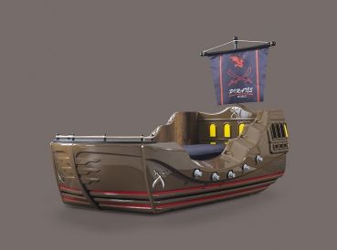Piratenschiff kinderbett caribbean besondere kinderbetten bed pirate ship bed und kids car bed - Besondere kinderbetten ...